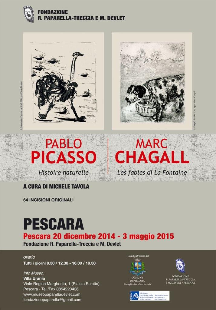 Pablo Picasso e Marc Chagall
