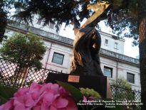 Aligi Sassu, Cavallo reale, giardini di Villa Urania