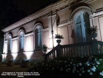 Giardini di Villa Urania di sera