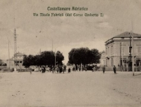 Castellammare Adriatico - Via Nicola Fabrizi dal Corso Umberto I, ICCD