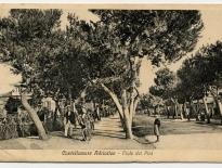 Castellammare Adriatico - Viale dei Pini, ICCD, 1919, cartolina