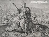 adrien collaert tratto da marten de vos allegoria delleuropa xvii secolo