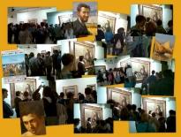 Museo Vittoria Colonna: Virna Caranci con gli studenti della SMS Carducci di Pescara.