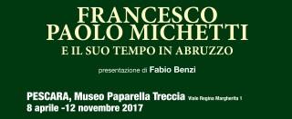 Banner mostra Michetti
