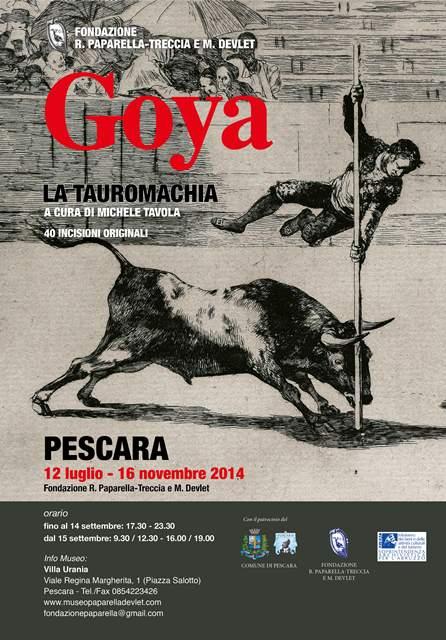 Goya la Tauromachia