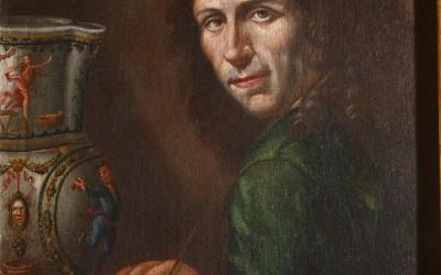 Pietro Santi Bambocci, Autoritratto, 1700-1710